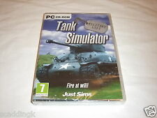 PC Simulation Tank Simulator Military Life Brand New Factory Sealed