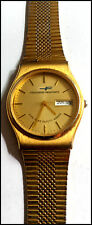 Vintage Consolidated Freightways Gold 5-Yr Safety Award Mechan. Automatic  Watch