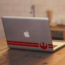 """Star Wars Rebel Alliance Symbol Design for Macbook 11 13 15"""" Vinyl Decal Sticker"""