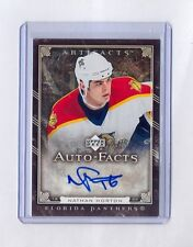 2006-07 Upper Deck Artifacts Auto-Facts Nathan Horton Auto