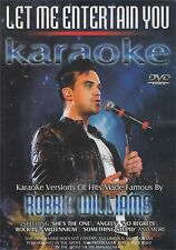 Let Me Entertain You Karaoke Versions Of Hits Made Famous By Robbie Williams DVD