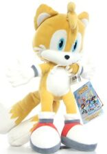 "Nouveau Officiel 12 ""queues peluche Jouet Doux ami de sonic the hedgehog et knuckles"