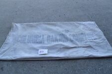 Vintage  Columbia Baking Co   Feed Seed Heavy Cloth Sack good for decor