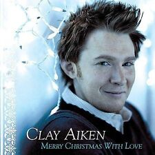 99 Cent CD: Merry Christmas with Love by Clay Aiken (CD, Nov-2004, RCA)