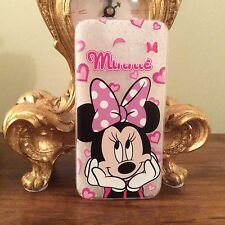 Samsung Galaxy S7 Edge De Disney Mickey Minnie Mouse teléfono caso De Gel Suave Lindo Regalo