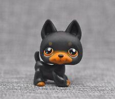 Littlest Pet Shop Dog Black German Shepherd Shepard Sheperd LPS #92 Puppy LPS898