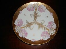 AN ART NOUVEAU  PICKARD CHINA HANDPAINTED W/ CARNATIONS SIGNED FISHER 1898-1905