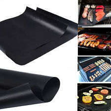 BBQ Grill Mat - SET OF 3 - A Miracle Barbecue solution for Gas Charcoal or El...