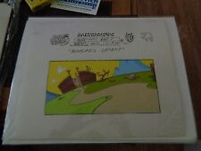 Taz-Mania Animated Series Original Animation Hand Painted Background Model Cel L