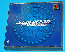 Star Ocean The Second Story - Sony Playstation - PS1 PSX - JAP Japan