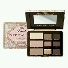 Too Faced Natural Eyes NEUTRAL Eye Shadow Collection Palette NEW 100% Genuine