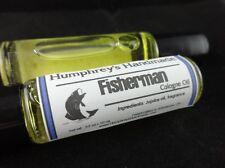 FISHERMAN Men's Cologne Oil, Black Licorice Jojoba Roll On Anise Scent Fragrance