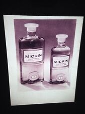 "Donald Deskey ""Micrin Mouthwash Bottles 1962"" Vintage Advertising 35mm Slide"