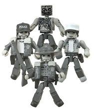 SDCC 2014 Walking Dead Days Gone Bye Black and White Minimates Box Set Diamond