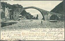 1900 - Borgo a Mozzano - Ponte della Maddalena sul Serchio