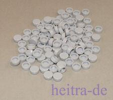 LEGO - 100 x Rundfliese 1x1 hellgrau / Fliese rund / Tile Round / 98138 NEUWARE