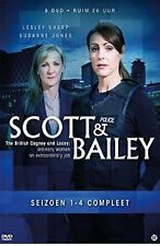 SCOTT AND BAILEY COMPLETE SERIES 1 - 4 DVD Box Set Brand New Sealed 1 2 3 4