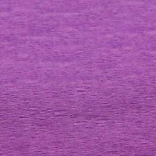 Feuille de crépon Papier violet améthyste 150 cm x 50 cm [112131] loisirs creat