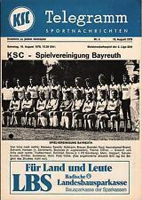 II. BL 79/80 Karlsruher SC - SpVgg Bayreuth, 18.08.1979