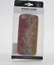 2015 NWT WOMENS VOLCOM CALL ME MAYBE iPHONE 5 CASE $22 multi hard plastic