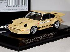 PORSCHE 911 CARRERA RSR 2.8 IROC 1973 E. FITTIPALDI MINICHAMPS 400736301 1:43