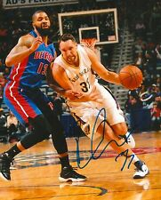 RYAN ANDERSON signed NEW ORLEANS PELICANS 8X10 PHOTO COA D
