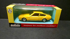 SOLIDO Matra Bagheera Yellow vintage 1973 die cast boxed near mint