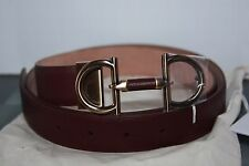 Salvatore ferragamo  Parigi adjustable belt 679154 Bordeaux 46