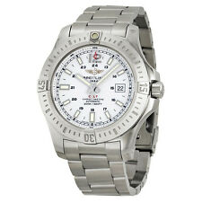 Breitling Colt Automatic Silver Dial Stainless Steel Mens Watch A1738811-G791SS