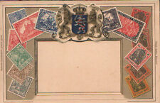 OLD STAMPS POSTCARD . DEUTSCHES REICH . GERMANY STAMPS  SEE MY EBAY STORE CC1245