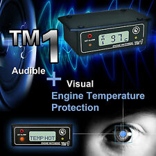 DIGITAL TEMPERATURE GAUGE, ENGINE ALARM, RACING OVERHEAT MONITOR TM1