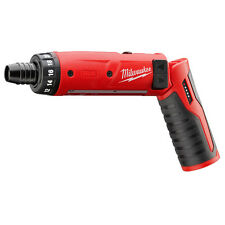 NEW MILWAUKEE 2101-20 M4 4 VOLT CORDLESS 2 SPEED HEX SCREWDRIVER DRILL