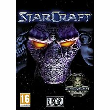 Starcraft with Brood Wars Expansion for PC and MAC Brand New Factory Sealed