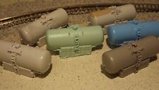 N-Scale 6 pc.Propane Tanks *Seconds*/1:160 Detail Parts