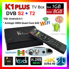 K1 Plus Android 5.1 Quad Core Smart TV Box IPTV KODI DVB-S2 DVB-T2 S905
