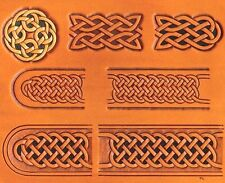CELTIC BELT & BUCKLE CRAFTAID TEMPLATE 76611-00 Tandy Carving Leather Craftaids