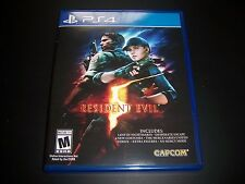 Replacement Case (NO GAME) RESIDENT EVIL 5 PlayStation 4 PS4 100% Original Box