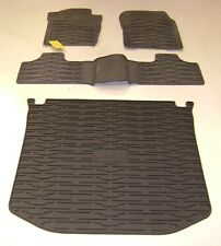 2013 2014 2015 2016 Jeep Grand Cherokee 4 Door Rubber Floor Slush Mats Cargo Mat