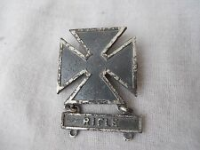 """Ancienne insigne Tireur """" RIFLE """" Sterling"""