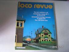 **f Loco revue n°445 141 R Carmina en N / Décor à la française / TGV Lima