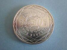PIÈCE DE 10 EUROS EN ARGENT RÉGION ALSACE. AN:2011