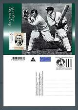 AUSTRALIA - 1994 - CARTOLINA - PA - 45c - Commem.di Sir Donald Bradman (cricket)