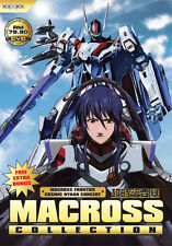 Anime DVD Macross Collection (Frontier + Zero + Movies) Free Shipping