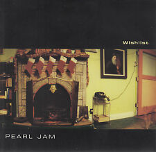 "PEARL JAM  Wishlist  PICTURE SLEEVE EP 7"" 45 record + juke box title strip NEW"