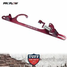 Proflow Red Billet Throttle Cable Return Spring Bracket Holley 4150 Carby New