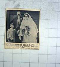1956 Miss D Hosking And Mr J Babbage, Breage, Marie