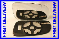 DOOR WING MIRROR GLASS HEATED BLIND SPOT RIGHT VW BORA 1998-2003
