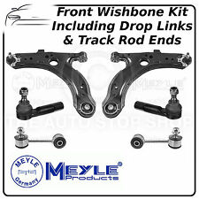Vw Bora Meyle Frontal Inferior Brazo de control Wishbone, caída de Link & Pista Rod End Kit