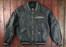 Vintage harley davidson motorcycles screamin eagle baseball bomber jacket medium