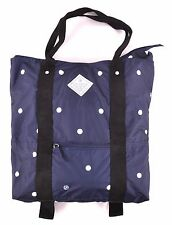 2016 NWT WOMENS ELEMENT CITY TOTE $35 Navy Polka-Dot backpack straps